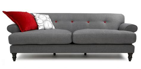 dfs grey button sofa patent 4 seater fabric sofa dfs everyday more