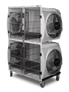 heat l for dog kennel no heat double dryer cage by shor line dog grooming