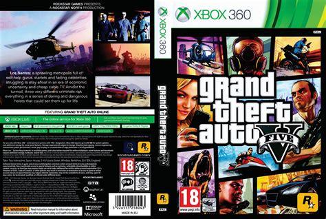 Dvd Ps4 Gta V grand theft auto v dvd cover 2013 pal scan