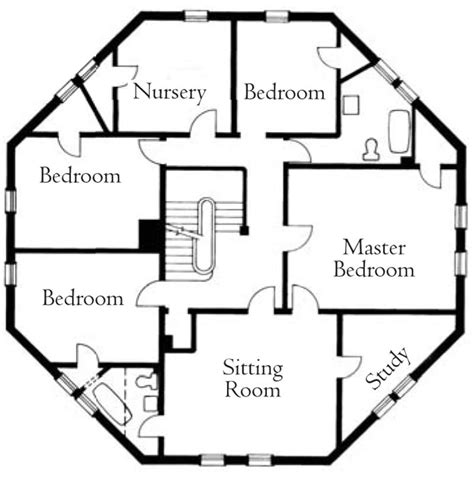 Octagon Floor Plans by Octagon House Joseph Pell Lombardi Architect