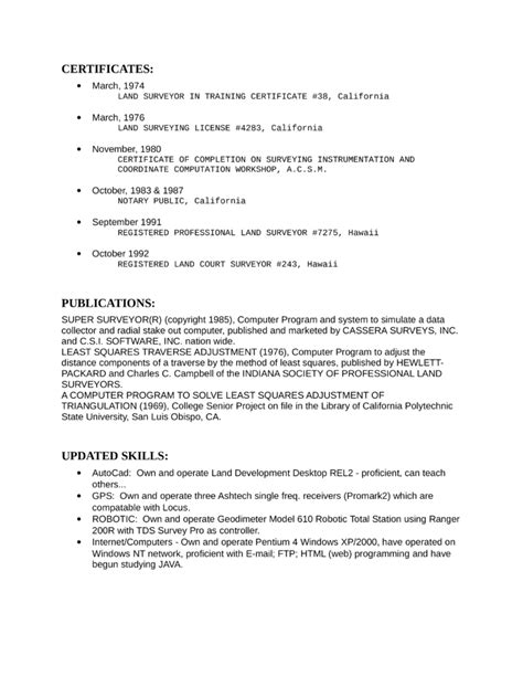 combination telecommunications specialist resume template