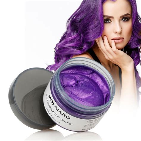 purple temporary hair color color hair wax temporary hair dye aloha