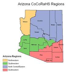 arizona map regions