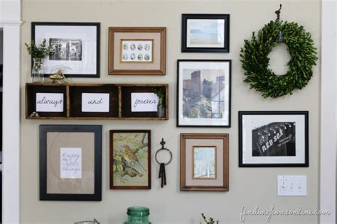 wall gallery ideas gallery wall ideas she sent me what finding home farms