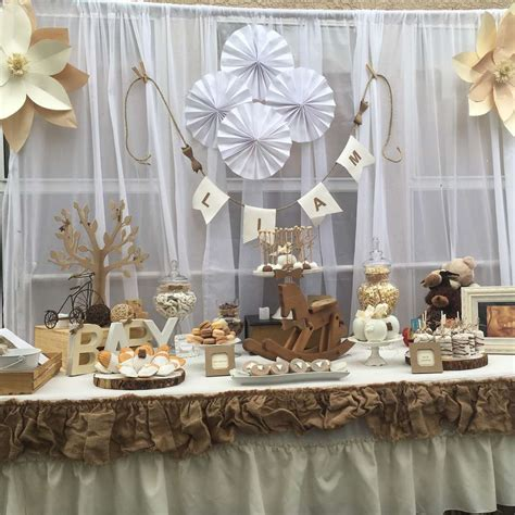 Rustic Baby Shower Theme by Rustic And Vintage Baby Shower Baby Shower Ideas