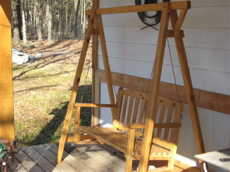 we swing too wooden swing for the porch or yard swings