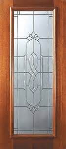 Exterior Slab Doors With Glass Slab Entry Single Door 80 Mahogany Kensington Lite Glass Mediterranean Front Doors