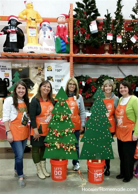 home depot christmas decoration ideas home depot 500 gift card giveaway hoosier homemade