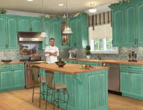Coastal Home Decor Stores Vintage Cottage Kitchens Designs With Blue Color Cabinet Excerpt Kitchen Ideas Loversiq