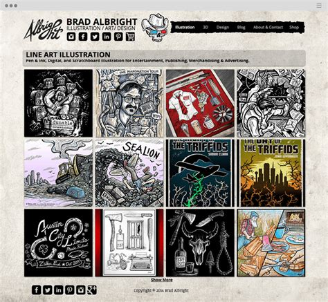 Really Good Resume Examples 15 magnificent websites created by artists and illustrators