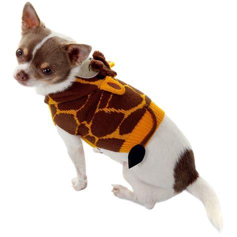 Pet Clothes Animal animal jumper x small small giraffe