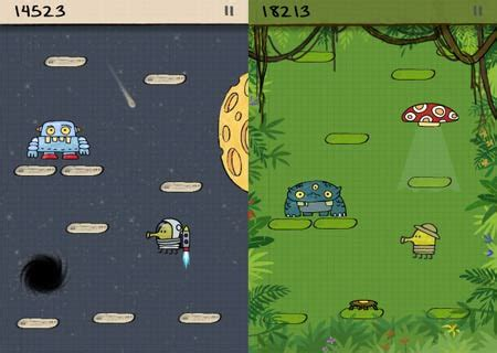 doodle jump new version doodle jump be warned insanely addictive for iphone