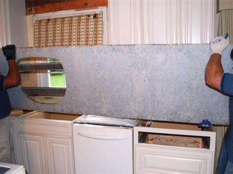 Installing Granite Countertop by How To Install A Granite Kitchen Countertop How Tos Diy