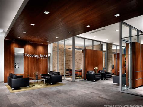 Peoples Bank Of The South Sanders Pace Architecture Corporate Interior Design