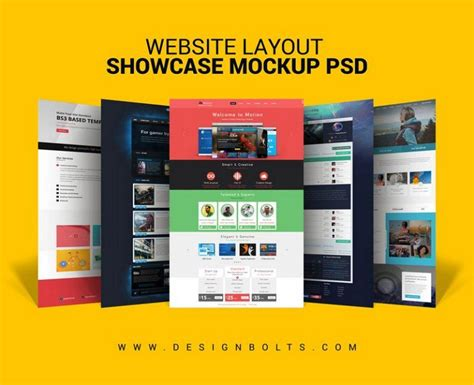 layout design psd 30 awesome free psd website mockup design utemplates