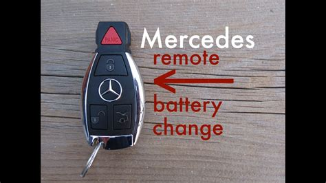 Mercedes Key Fob Battery Replacement by How To Mercedes Key Fob Remote Keyless Battery Change