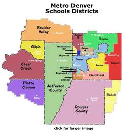school districts in map homes in douglas county schools colorado
