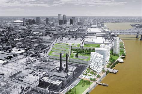 reinventing  crescent riverfront development plan