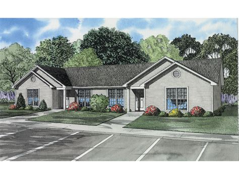 24 best images about duplex single story ranch homes on pinterest house plans home and ranch winfield ranch style duplex plan 055d 0395 house plans