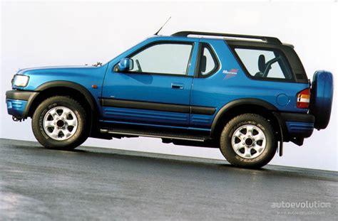opel frontera engine opel frontera sport specs photos 1998 1999 2000