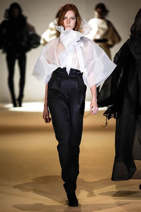 Nabil Dress dramatic menswear look all by nabil nayal cotton organdie