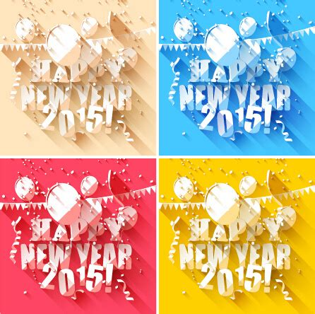 new year background paper 2015 new year paper white background design free vector in