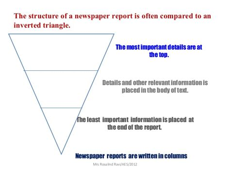 Writing A News Report Ppt writing a newspaper report ppt