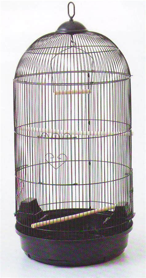 large round bird cage for finch canary cockatiel