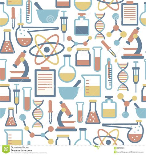 pattern background science science pattern stock image image 32763491