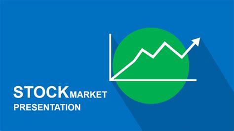 stock market powerpoint template slidemodel