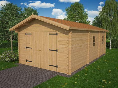 grand garage bois grand garage pr 233 fabriqu 233 bois platane 27 44mm