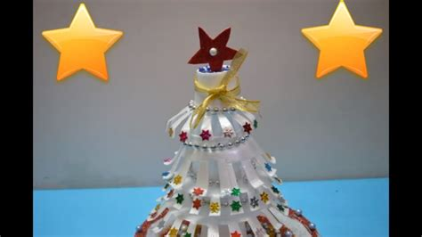 how to make a christmas tree wtih rubber gloves craft how to make tree thermocol craft craft nidhi jain