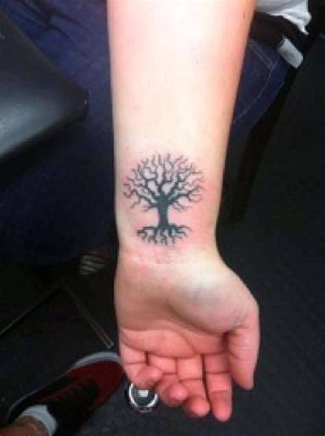 tree tattoo small tree of small search tattoos