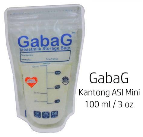 Terlaris Gabag Kantong Asi Murah gabag kantong asi mini 100ml efisien dan murah di asibayi