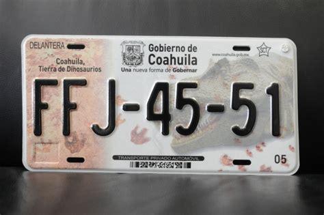 costo de placas en coahuila 2016 espera coahuila recaudar 300 mdp por placas nuevas
