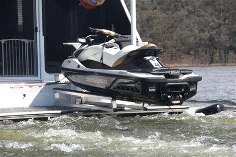 jet ski boat build houseboat refurbishing swim platform jet ski boat rs