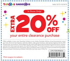 Car Cover Usa Coupon How Can You Save Money With Printable Toys R Us Coupons