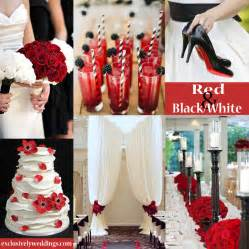 Red Black And White Wedding Black And White Wedding Colors Seven Glorious