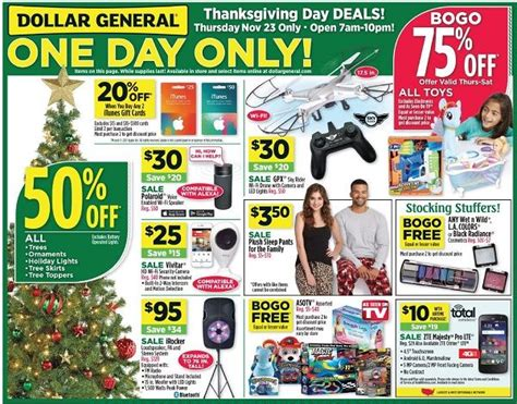 Restaurant Gift Card Deals Black Friday - dollar general black friday ad scan 2017 deals on itunes restaurant gift cards