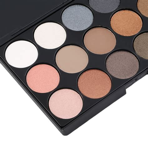 matte eyeshadow palette professional 15 colors matte shimmer eyeshadow palette