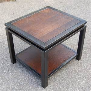 tin furniture 1000 ideas about wood end tables on end