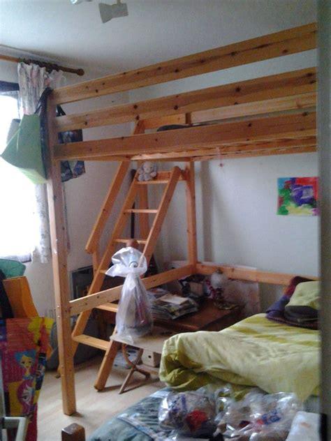 lit mezzanine 2 places escalier lits occasion 224 bourgoin jallieu 38 annonces achat et