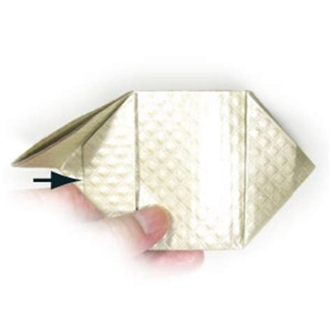 Origami Change Purse - how to make an origami coin purse page 6