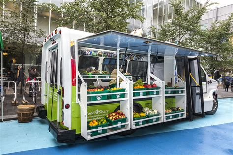 Competitive Kitchen Design mobile market brings fresh fruits and veggies to food