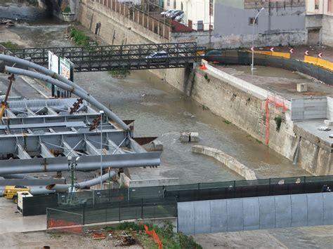 mobilita palermo foto ponte tranviario l installazione degli archi