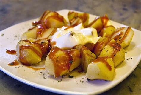 printable tapas recipes make spanish patatas bravas with this easy recipe