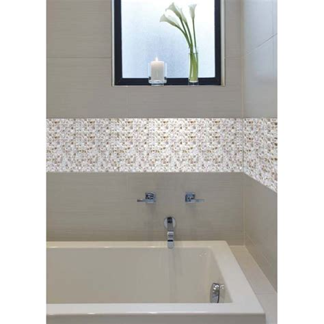 bathtub wall liners mother of pearl shell mosaic tile shower liner wall bath