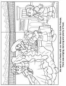 mexican guide coloring page