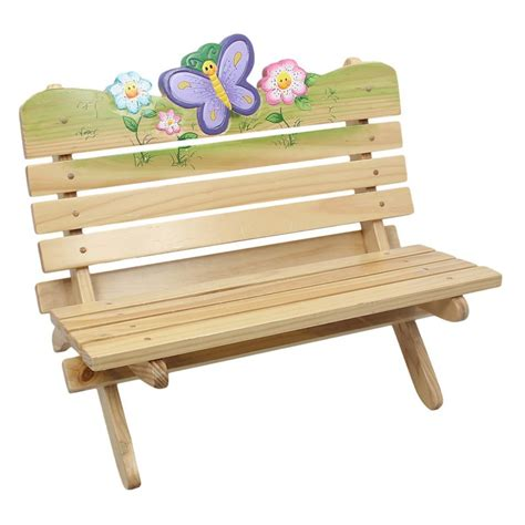 fantasy fields magic garden outdoor bench kids outdoor