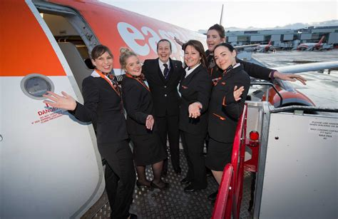 easyjet cabin crew easyjet rosters more pilots and crew than